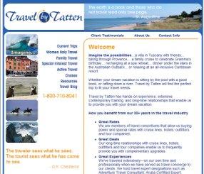 Website for Travel Agent