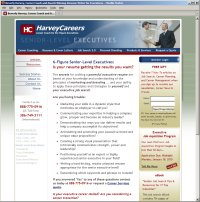 Website Redesign for Harvey Careers After image