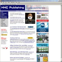 Website Redesign for HHC Publishing After image