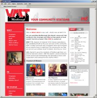 Website Redesign for WMCT TV After image