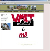 Website Redesign for WMCT TV Before image