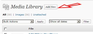 Upload a PDF to WordPress