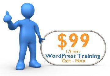 WordPress Training Special