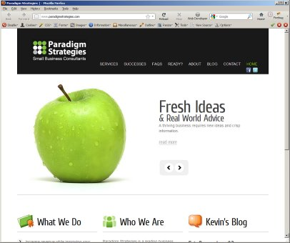 Paradigm Strategies New Website