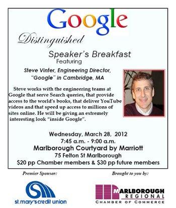 Steve Vinter Google